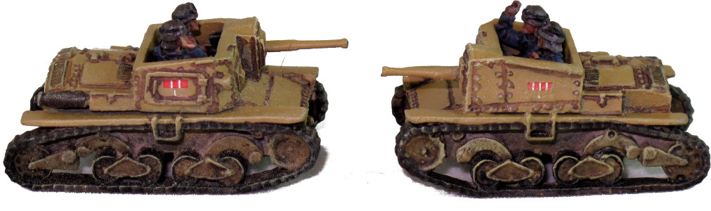 Battlefront Semovente 47/32 Tank Destroyers